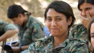 16. Amina Omar (Barin Kobane)