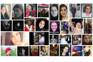 32. Women who lost their lives in Ankara on 10 October in the massacre