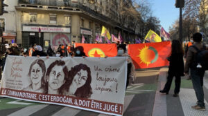 Thousands remember Sara, Rojbin and Ronahi in Paris