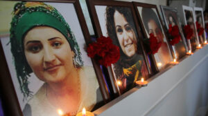 Sêvê, Pakize and Fatma: their stance gave strength to all