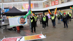 Solidarity action for political prisoners on hunger strike continues in Berlin